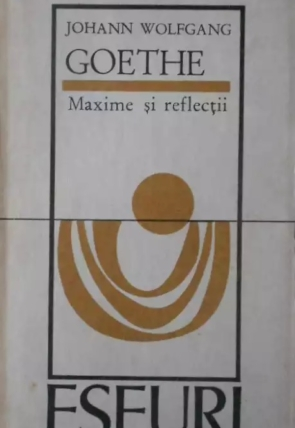 Goethe - Maxime si reflexe